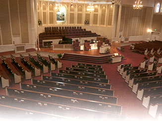 Virginia Church Furniture, Inc - Custom Church Pews, Steeples, Pulpits, Stained Glass & Other Furniture
